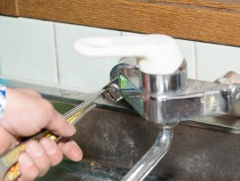 キッチンの水道工事