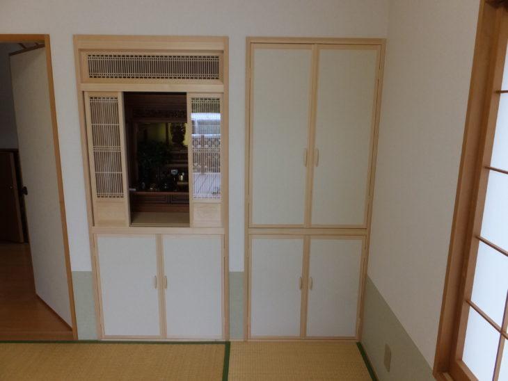 千葉県柏市 M様邸仏壇の取り付けリフォーム事例