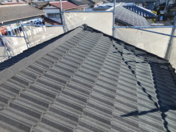 茨城県取手市 S様邸屋根葺き替え・外壁塗装リフォーム事例