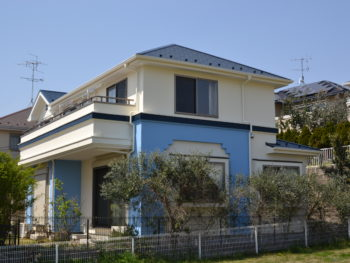 我孫子市 B様邸 屋根外壁塗装リフォーム事例