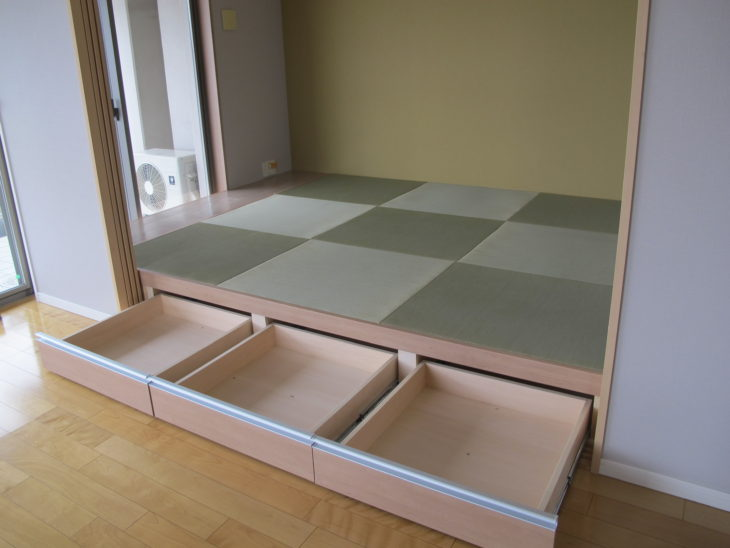 東京都葛飾区マンションの和室小上がりリフォーム完成の様子