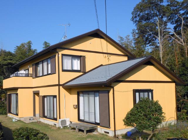 茨城県つくばみらい市 N様邸屋根外壁塗装リフォーム事例