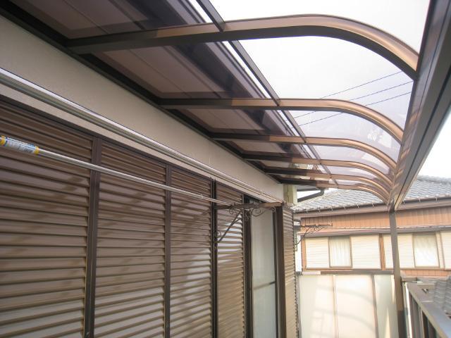柏市 T様邸 テラス屋根取り付けリフォーム事例