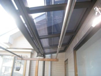 千葉県柏市 T様邸テラス屋根取り付けリフォーム事例