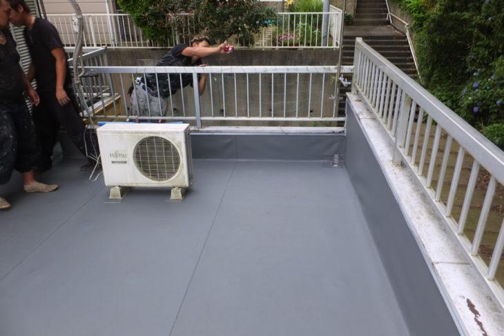柏市 M様邸 ベランダ床の雨漏り改修事例