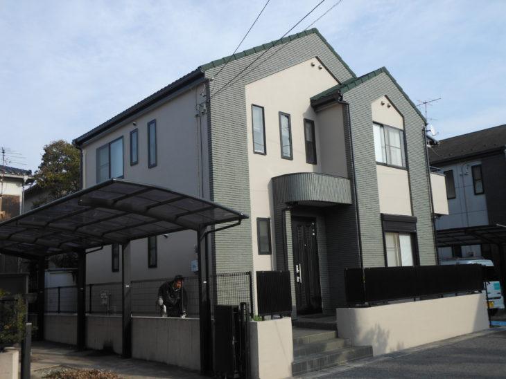鎌ケ谷市 S様邸 屋根カバー工法・外壁塗装リフォーム事例