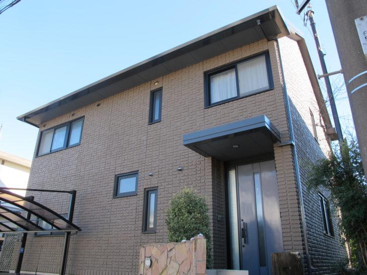 白井市 W様邸 屋根外壁塗装リフォーム事例