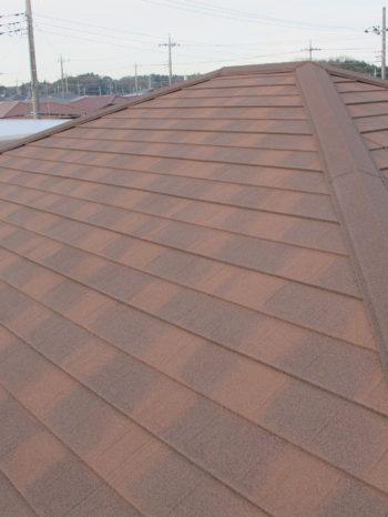 S様邸の屋根カバー工法後の様子