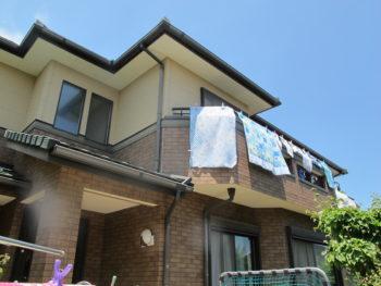 Y様邸の外壁塗装前の様子