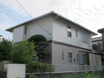 松戸市 W様邸 屋根カバー工法・外壁塗装リフォーム事例