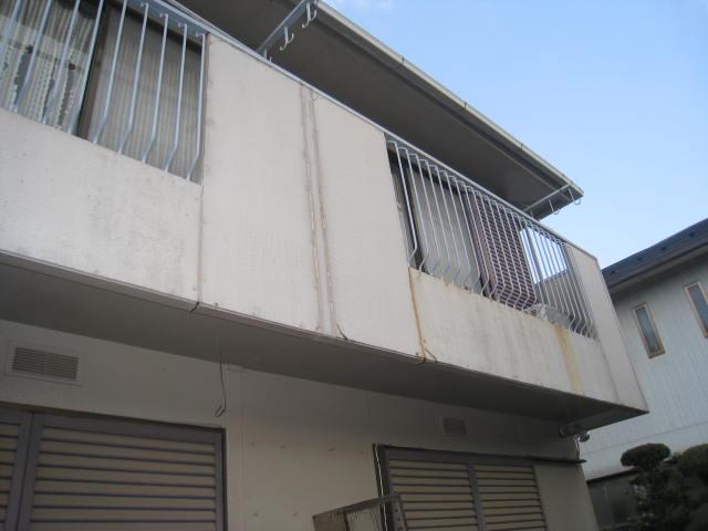 K様邸の外壁塗装前の様子