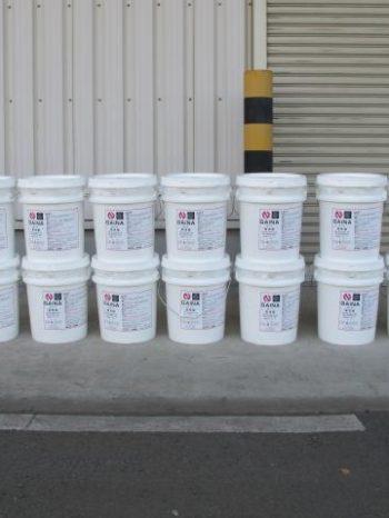 三郷市倉庫に使用した塗料のガイナ