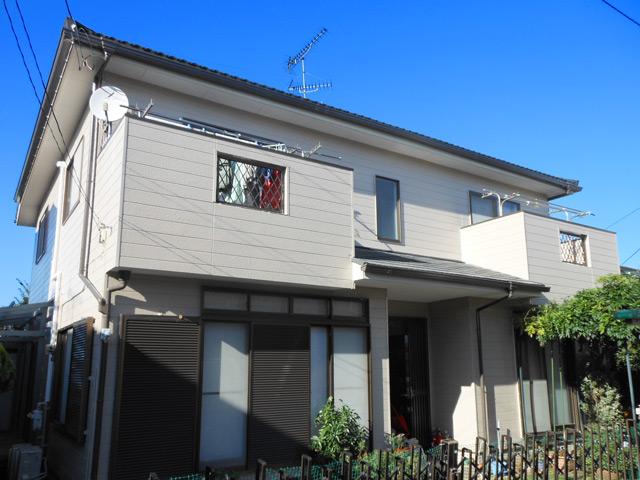 柏市 T様邸 屋根カバー工法・外壁塗装リフォーム事例