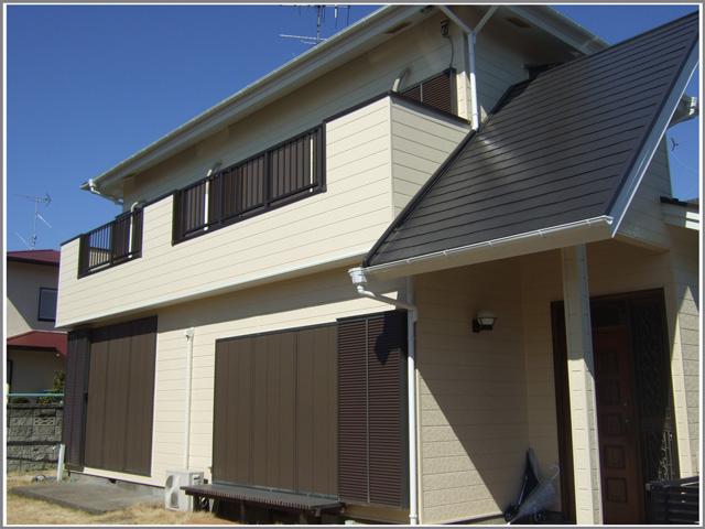 野田市 K様邸 屋根外壁塗装リフォーム事例