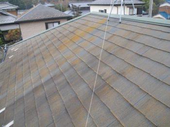 我孫子市K様邸の屋根カバー工法前の様子