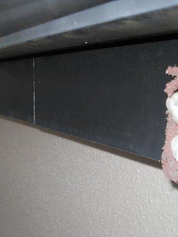 鎌ケ谷市S様邸の破風板のケレンの様子