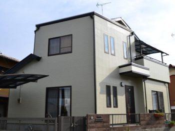 柏市 N様邸 屋根外壁塗装リフォーム事例