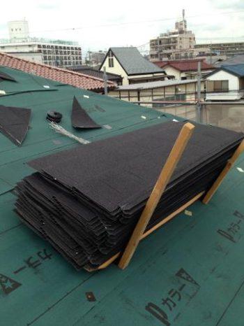 松戸市W様邸の屋根に使用したディプロマット