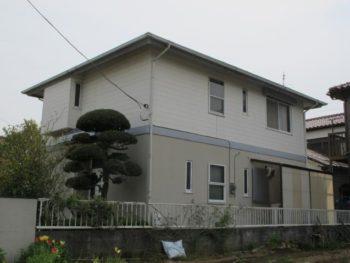 松戸市W様邸の外壁塗装前の様子