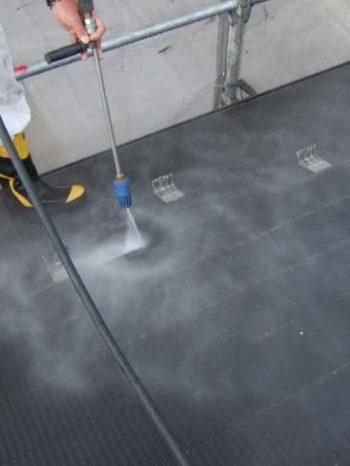 鎌ケ谷市S様邸屋根の高圧洗浄