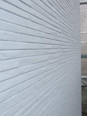 鎌ケ谷市S様邸の外壁下塗り後の様子