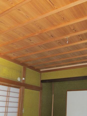 既存の和室天井。
