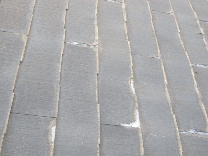 ニチハ・パミールの表層剥離の様子